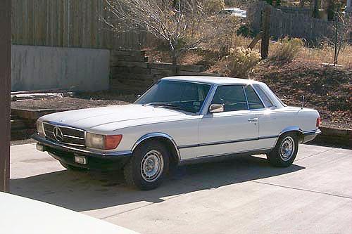 1977 Mercedes 450SLC